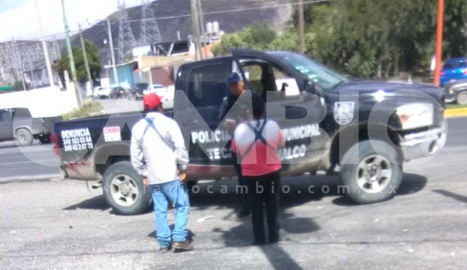 Les roban a comerciantes su camioneta con mercancía y policías de Tecamachalco ni siquiera la buscan
