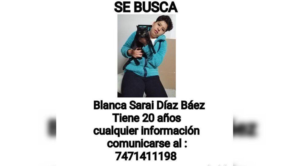 ¡Ayúdala a regresar a casa! Blanca Sarai desapareció tras acudir a sus clases en la Universidad Benito Juárez