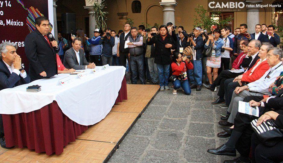 Barbosa aún no da una postura sobre si revocará la concesión a Agua de Puebla