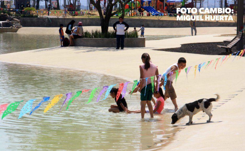 Reabren Playa Amalucan pero ya no causa sensación (VIDEO)