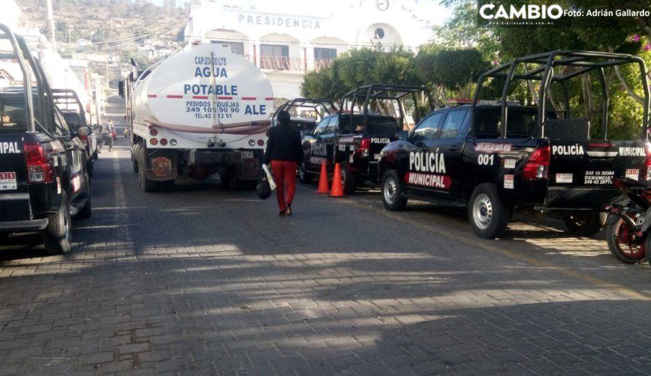 Asaltan a cuentahabiente en el centro de Tecamachalco