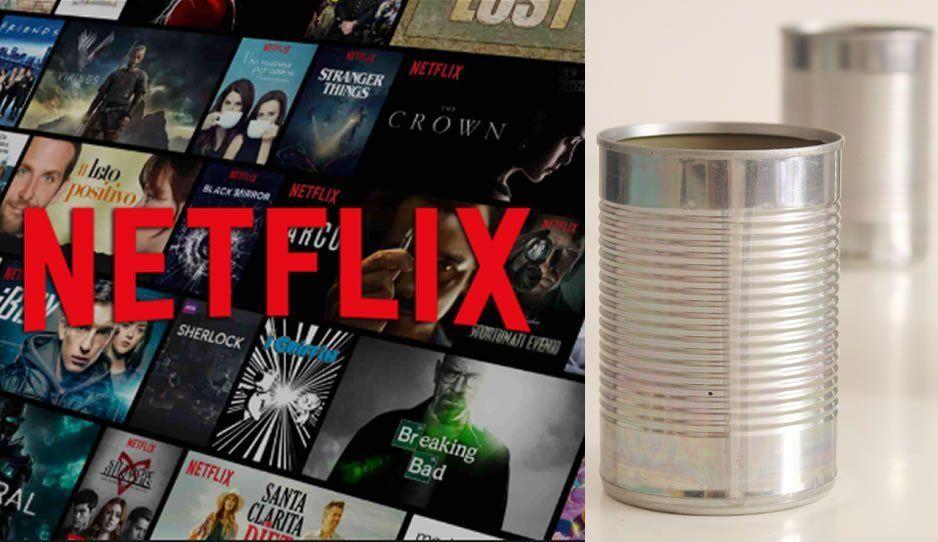 100% real: Podrás pagar Netflix con latas recicladas