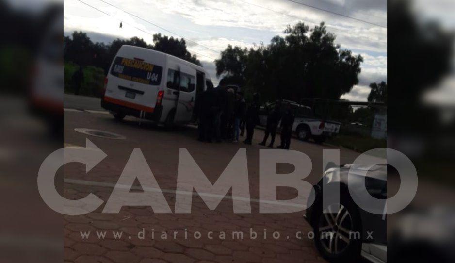 GN, Policía Federal y Estatal implementanfuerte operativo en Huixcolotla