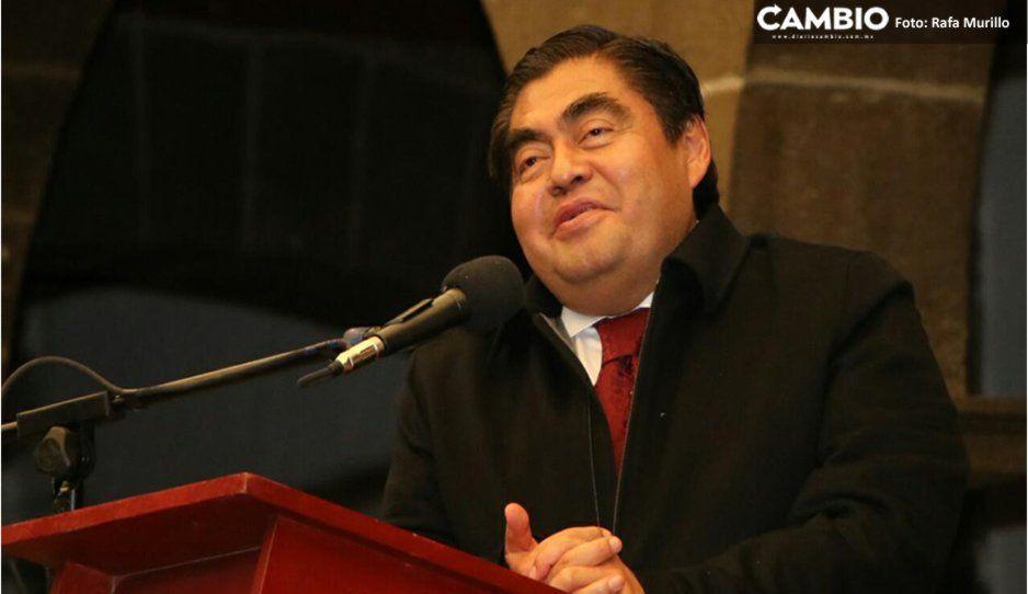 El dinero público se le da a La BUAP, no a un rector, el subsidio continuará y se aumentará: Barbosa (VIDEO)