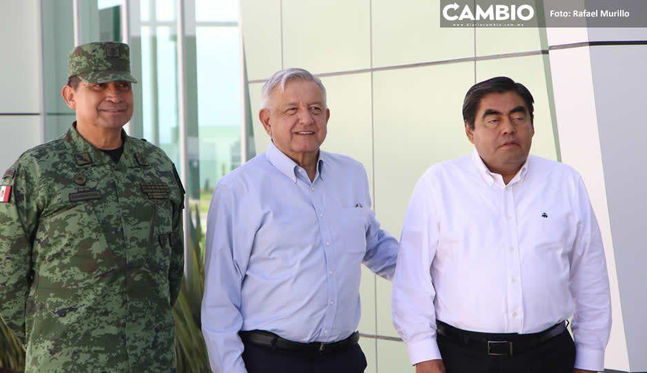 Barbosa, el primer gobernador en sumarse a La Escuela es Nuestra, reconoce AMLO