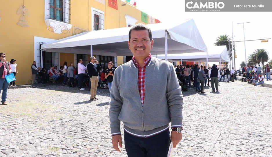 Arriaga Lila anuncia aumento de presupuesto para Seguridad Pública en San Pedro Cholula