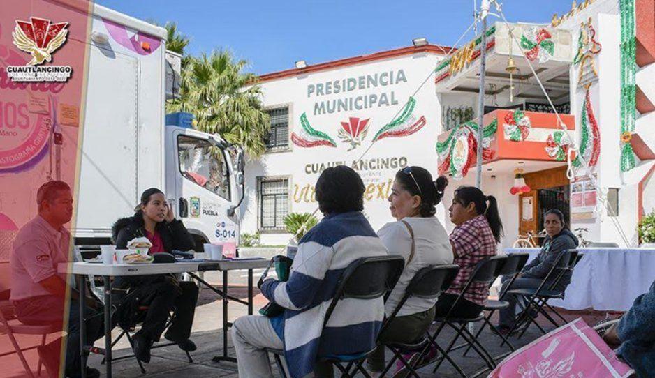 Promueve el Ayuntamiento de Cuautlancingo prevención de cáncer de mama