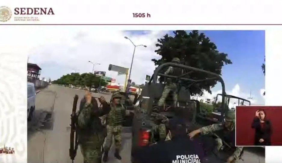 Varios heridos, un militar sin pierna y otro más muerto dejaron los ataques del Cartel de Sinaloa para liberar a Ovidio