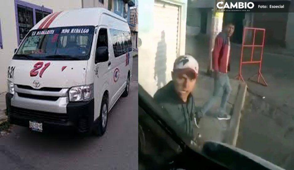 ¡Héroe sin capa! Chofer de ruta 21 persigue a par de ratas tras asaltar a pasajeros (VIDEO)