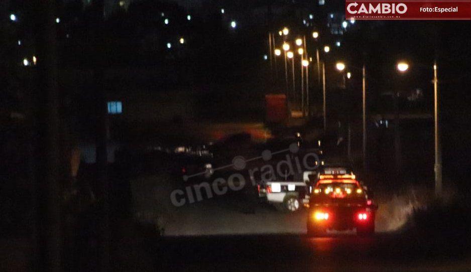 Ejecutan y calcinan a cinco en Cuautlancingo; los cadáveres fueron hallados dentro de un automóvil