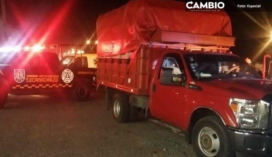 Feminicidio 11: de un balazo en la cabeza muere durante un atraco en Tecamachalco