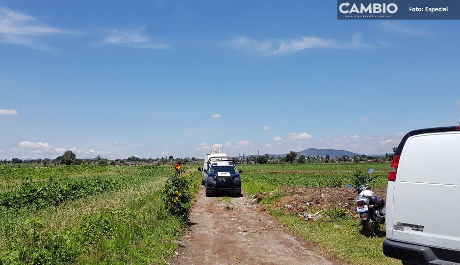 Tiran a ejecutado en Coronango;  víctima fue brutalmente torturada