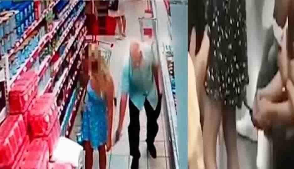 Pervertido toma fotos a mujer debajo de su vestido (VIDEO)