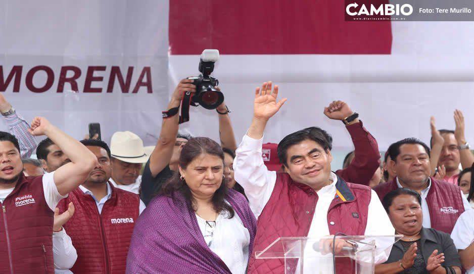 Se conocerá al candidato de Morena en la tercera semana de marzo: Barbosa