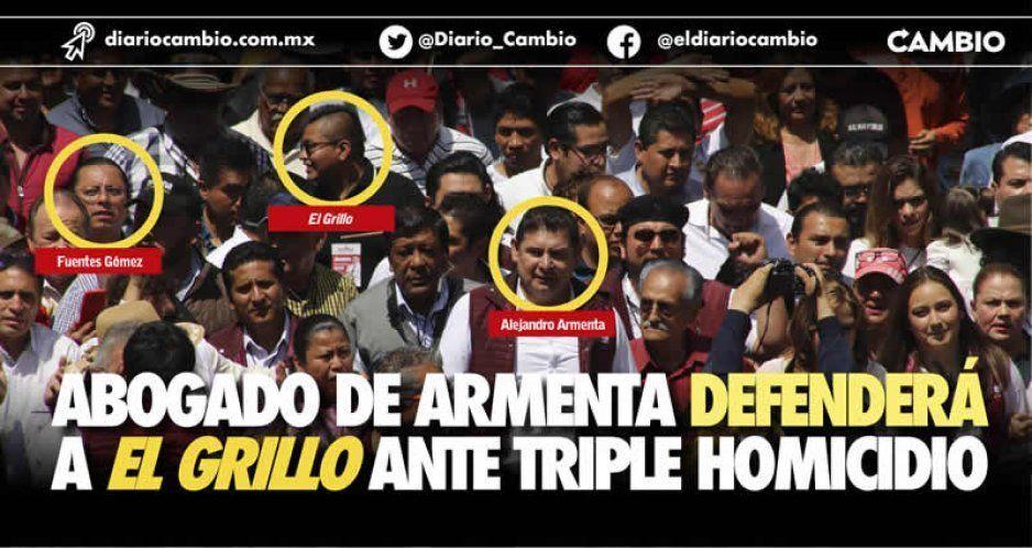 Nombra El Grillo al abogado que comparte con Armenta como su defensor por los multihomicidios