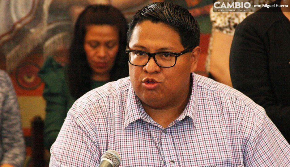 Leobardo exige a Israel Pacheco sacar  las manos del sindicato Benito Juárez