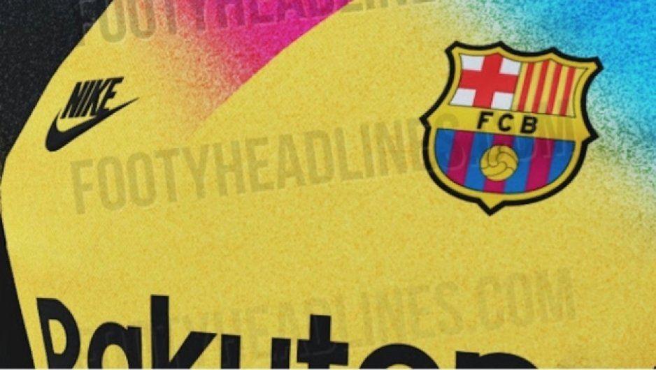 Barcelona lanza uniforme de portero al estilo Jorge Campos