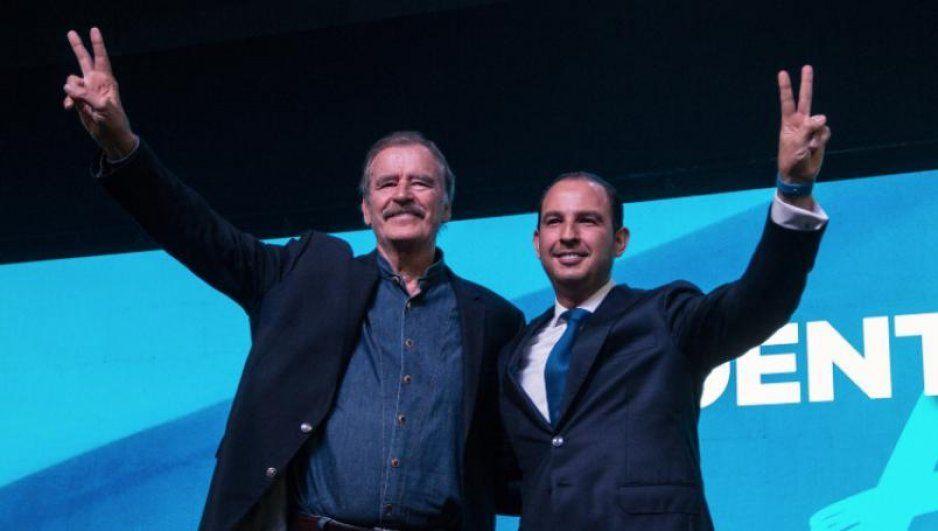 Vicente Fox pide darle en la madre a la Cuarta Transformación; dice estar de vuelta