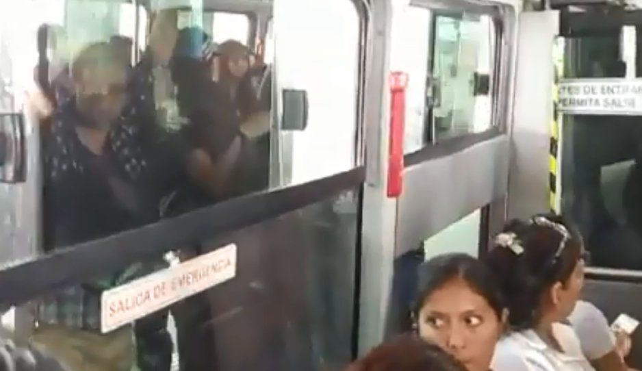 Atracan a pasajero de RUTA 3, llega la policía pero no encuentra al ladrón (VIDEO)