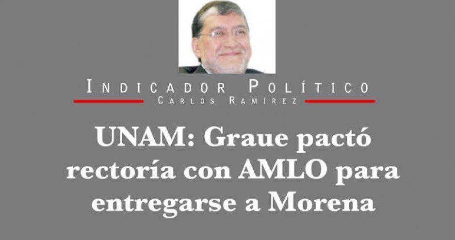 UNAM: Graue pactó rectoría con AMLO para entregarse a Morena