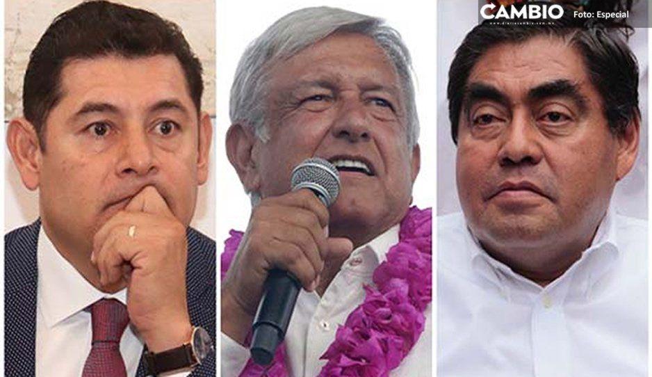 Insiste López Obrador que no se meterá en asuntos internos de Morena como el pleito de Armenta