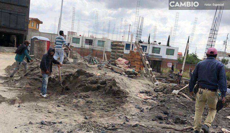 Se calientan los ánimos en el fraccionamiento Albizia, por el permiso que liberó Karina Pérez para construir en áreas comunes
