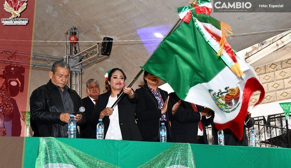 Celebran con fervor en Cuautlancingo el 209 aniversario de la Independencia de México (FOTOS)