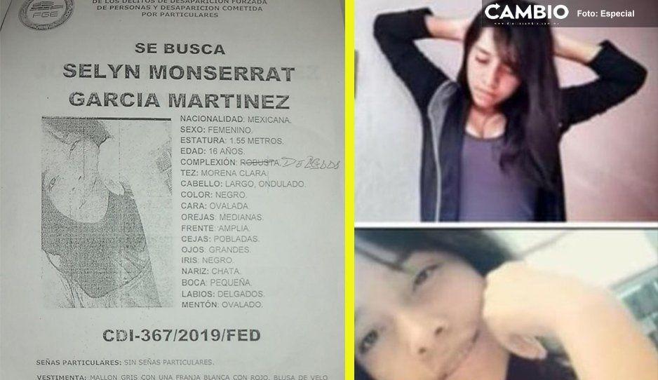 ¡Ayúdanos a encontrar a Selyn Monserrat! Tiene 16 años y se perdió en Clavijero
