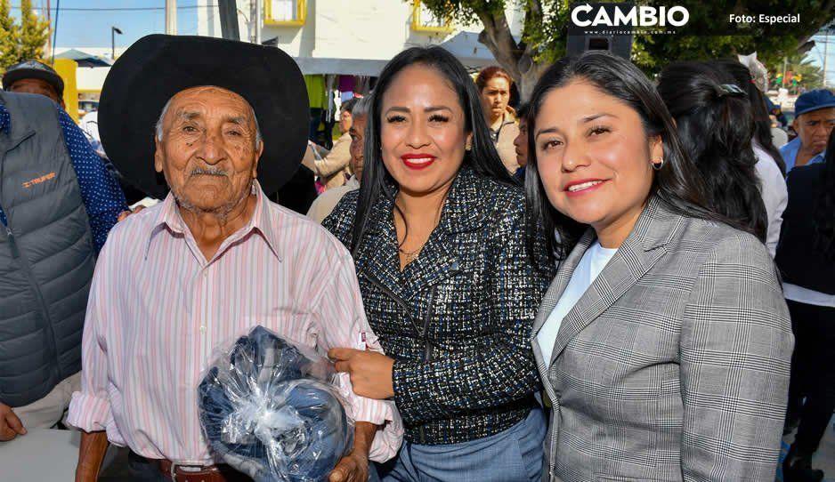 Lupita Daniel arranca programa Abrigando a Nuestros Adultos Mayores en Cuautlancingo