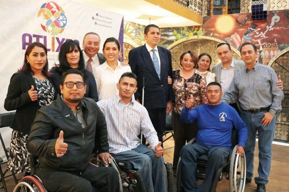 Integran en Atlixco el Consejo para el Desarrollo e Inclusión de las Personas con Discapacidad