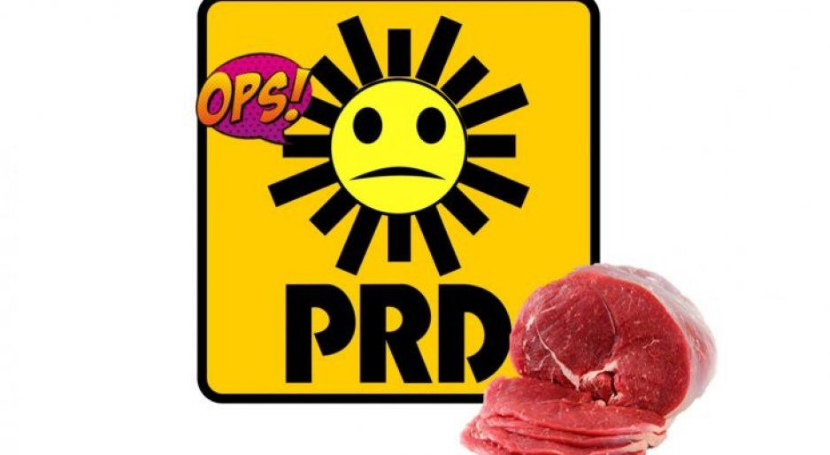 ¡De risa! En Veracruz ofrecen un kilo de carne por afiliarse al PRD