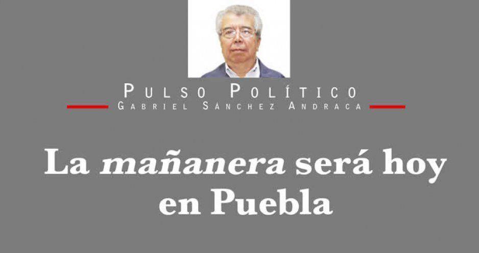 La mañanera será hoy en Puebla