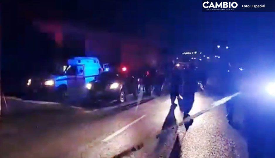 Pobladores de Tlaxcala matan a golpes a secuestrador y mandan al hospital a su cómplice (VIDEO)
