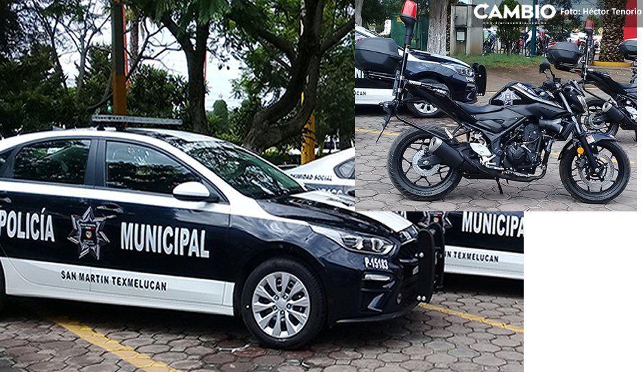¡Tránsito de Texmelucan estrena vehículos! Con recursos de Fortaseg