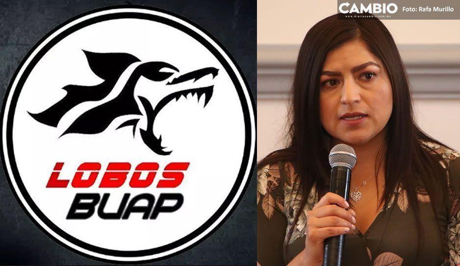 Lamenta Claudia la venta de Lobos: seguiremos apoyando a equipos de la BUAP