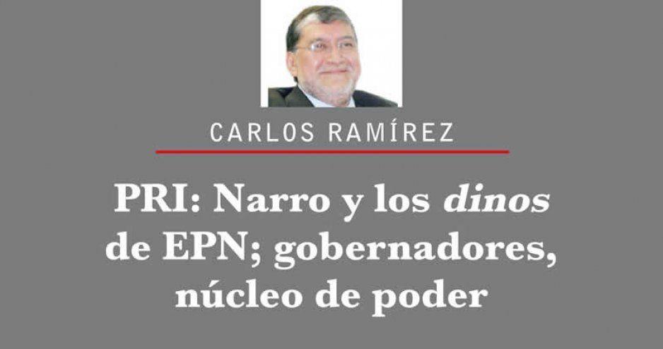 PRI: Narro y los dinos de EPN; gobernadores, núcleo de poder