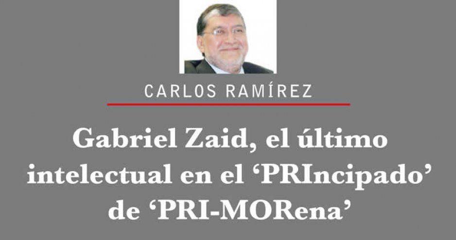 Gabriel Zaid, el último intelectual en el 'PRIncipado' de 'PRI-MORena'