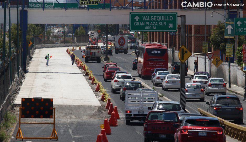 ¡Cuidado automovilistas! Por obras en  Periférico cerrarán Bulevar Carmelitas