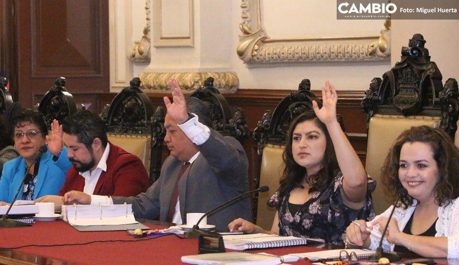 Claudia Rivera tuvo en sus manos frenar bolardiza y no lo hizo, votó por aprobarlos