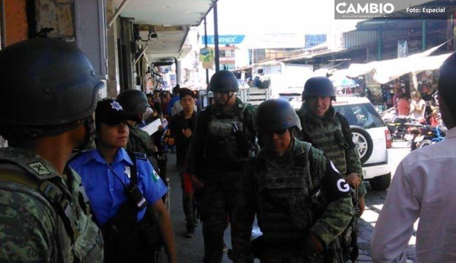 Detienen militares y policías de Atlixco  a El Checo, ladrón de autos de Tlaxcala