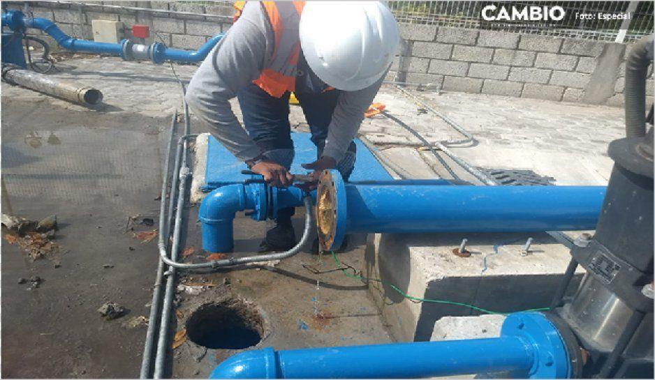 Se quedan sin agua 16 colonias de Atlixco por reparación en pozos