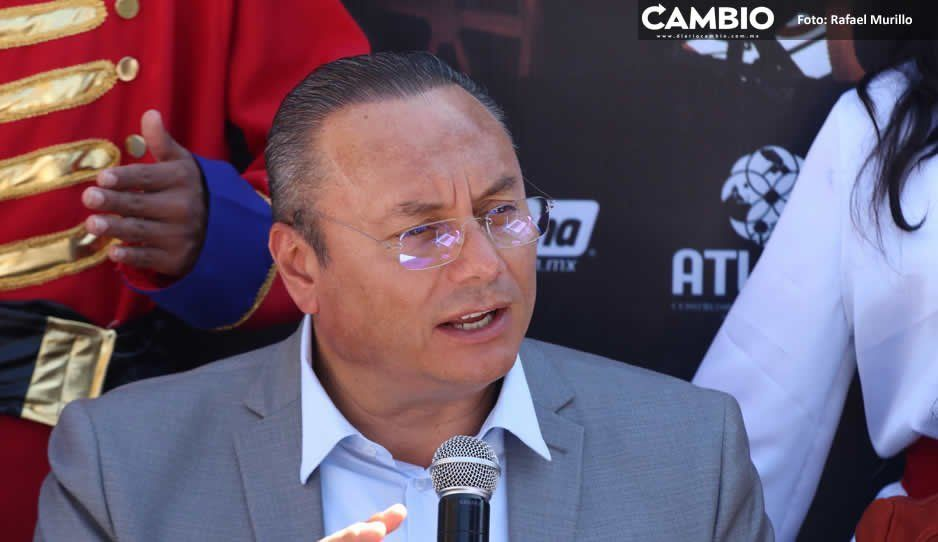 Reforzaremos seguridad en Vía Atlixcáyotl  en temporada decembrina: Memo Velázquez