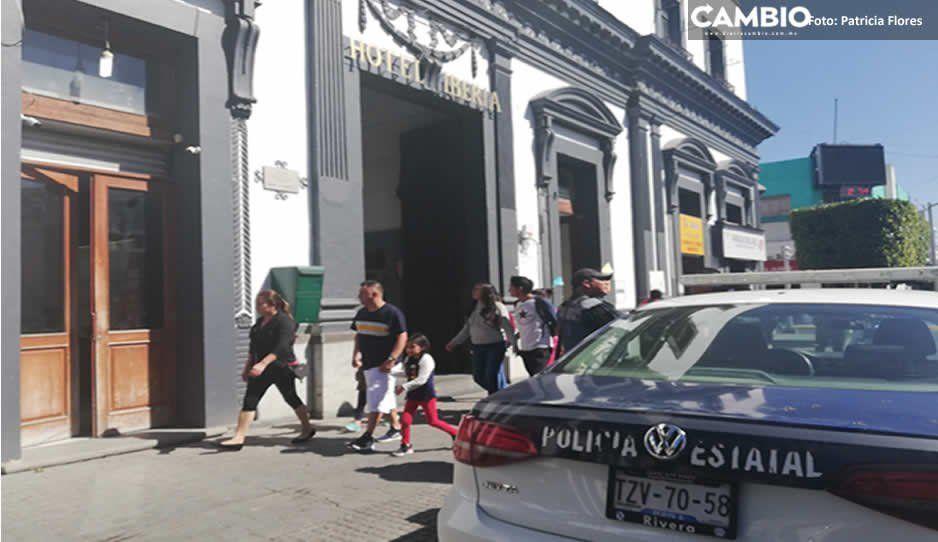 Sujetos armados asaltan joyería del Hotel Iberia, lugar donde se hospeda la Gendarmería Nacional