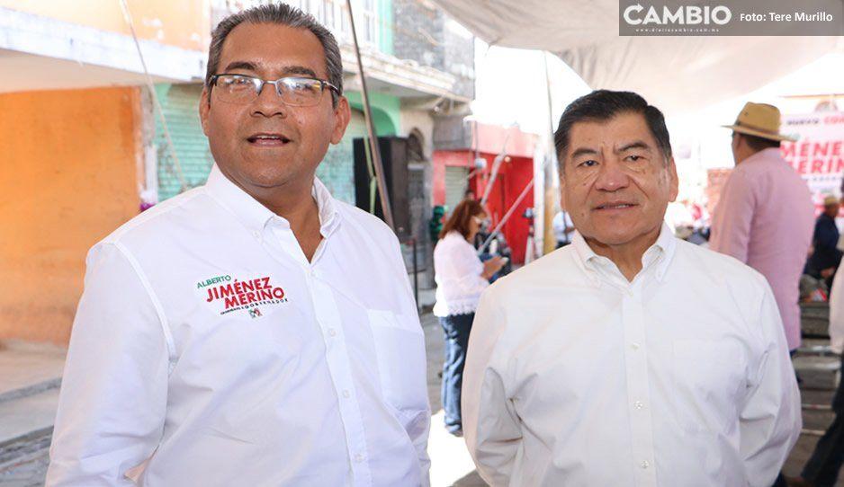 Dice Jiménez Merino que la orden de aprehensión contra Marín no le preocupa, ni afecta su campaña