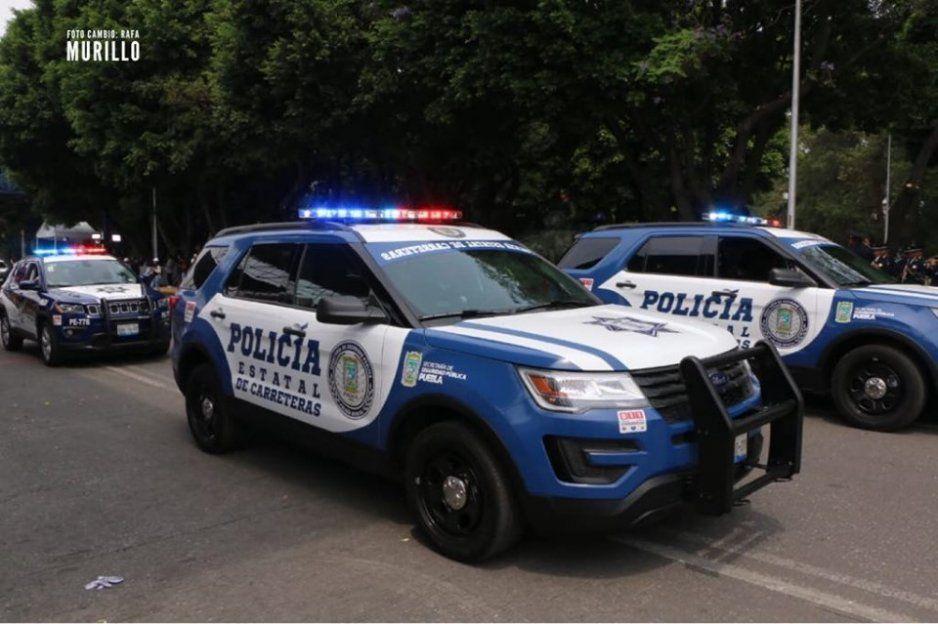 Presentan nuevas patrullas de la Policía Estatal de Carreteras