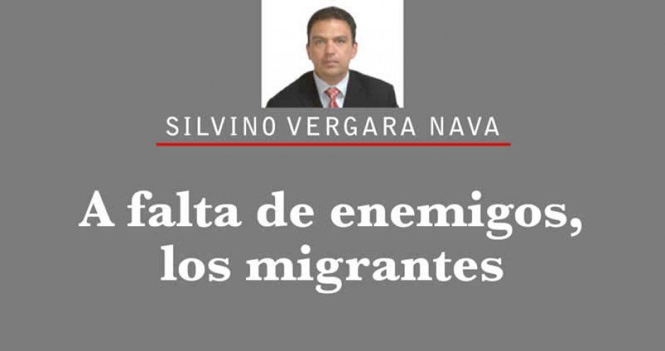 A falta de enemigos, los migrantes