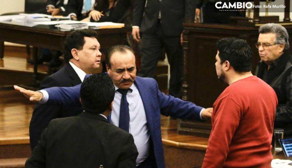 Biestro llama payaso a Héctor Alonso después de que lo encaró en el Congreso (VIDEO)