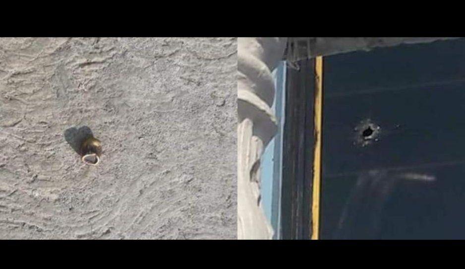 No paran las balaceras en Huejotzingo… balas terminan incrustadas en puertas y ventanas