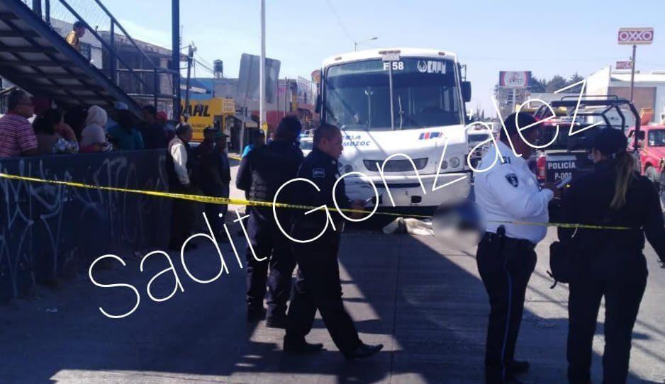 Ruta Puebla-Amozoc atropella y mata a pepenador de 65 años que intentaba cruzar la calle