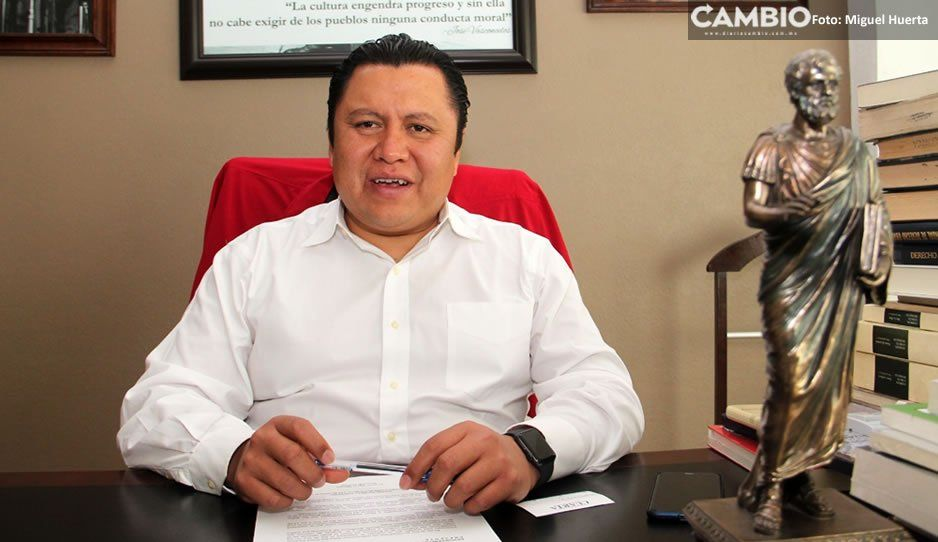 Gonzalo Juárez confirma suspensión de asamblea; culpa a simpatizantes de Pacheco (VIDEO)